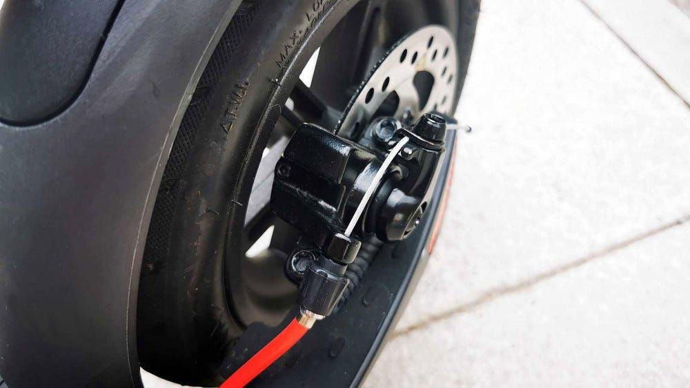 rear wheel disc brakes