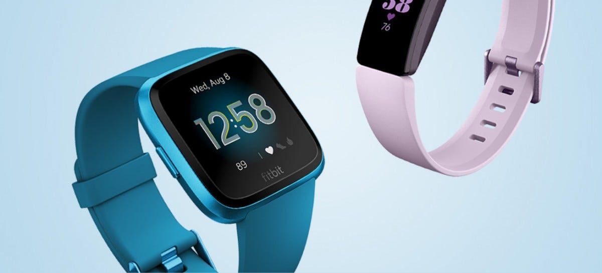 Fitbit smartwatch and fitness tracker