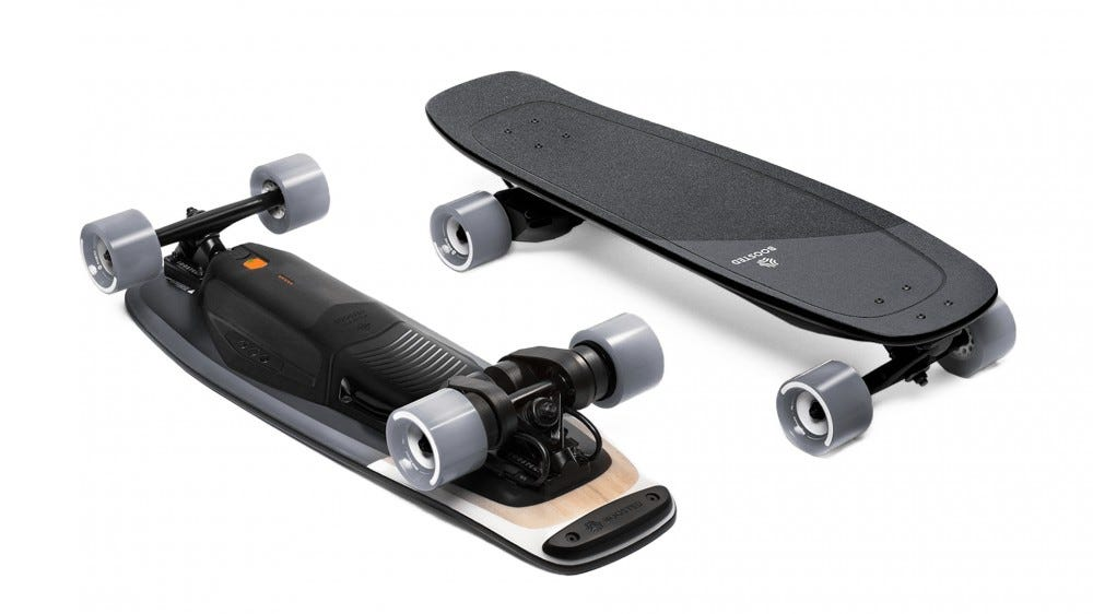 A photo of the Boosted Mini X board.
