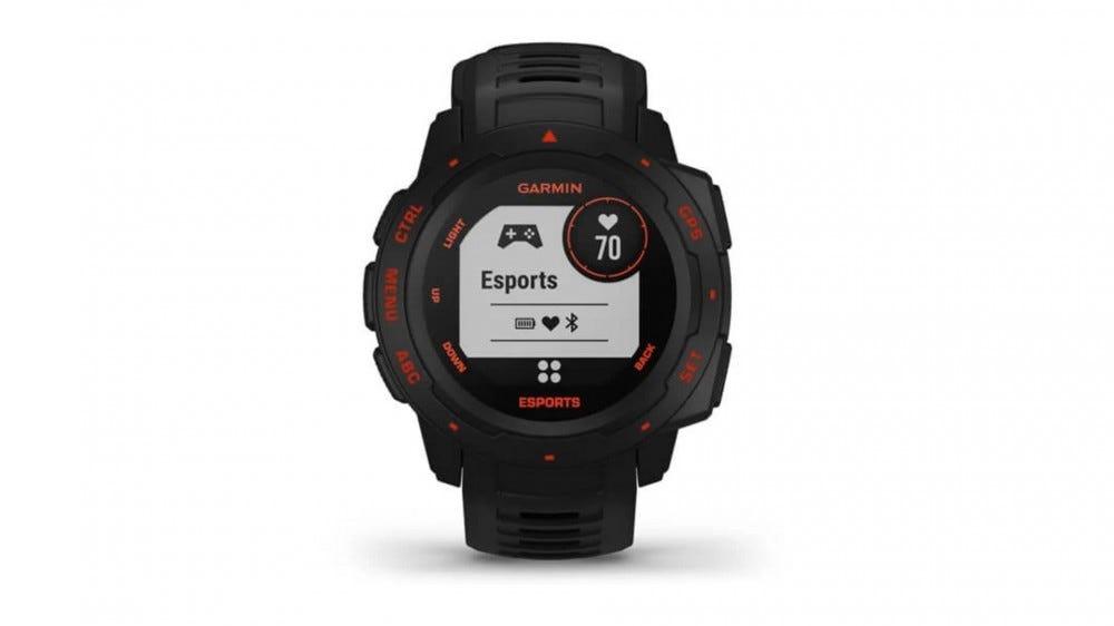 Garmin Esports Edition Smartwatch on white background