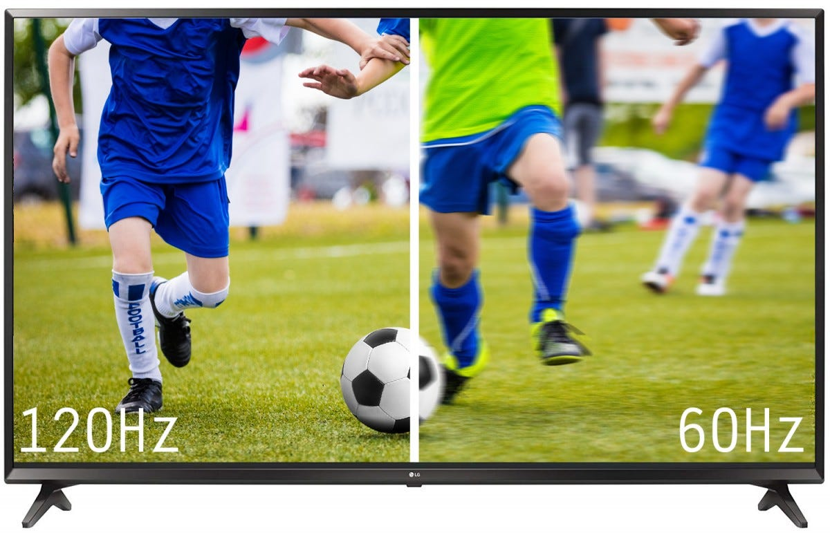 120Hz vs 60Hz refresh rate on a TV