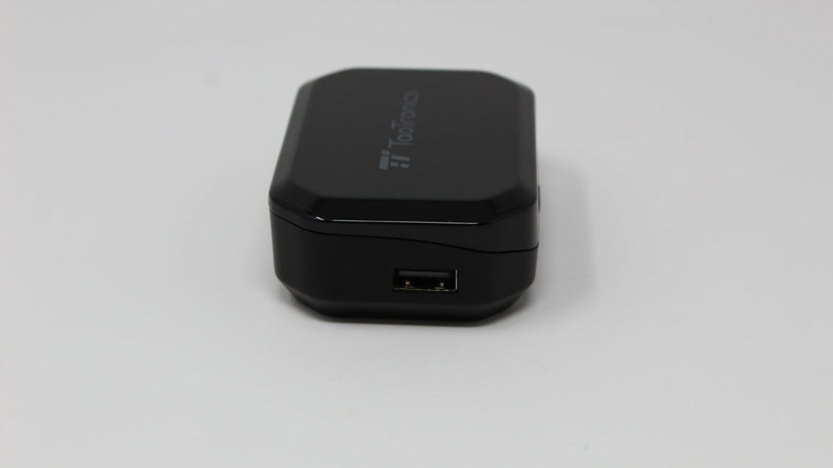 TaoTronics case showing full-sized USB-A port