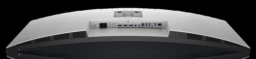 Dell Ultrasharp 40-inch promo image, bottom connections