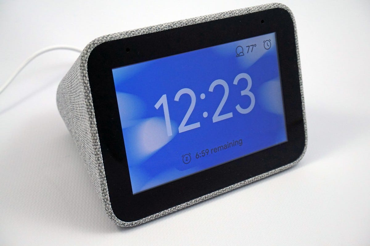 The Smart Clock is one of the best smarthome gadgets around.