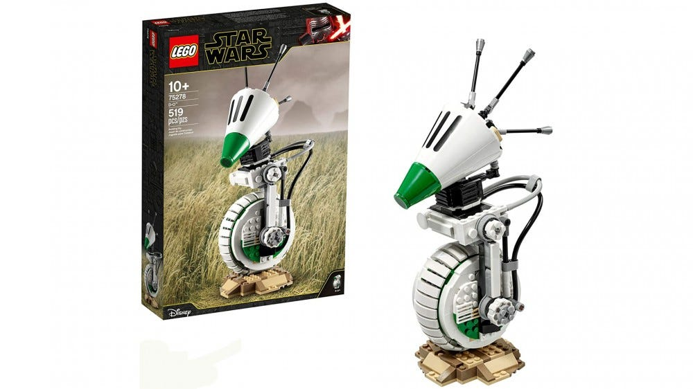 LEGO Star Wars D-O droid set