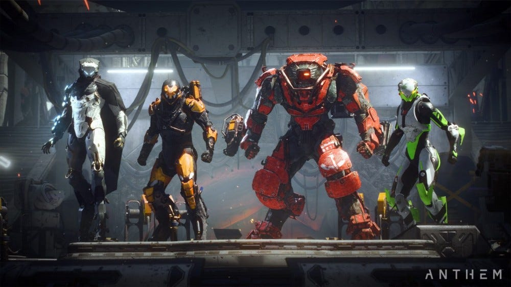Screenshot from Anthem