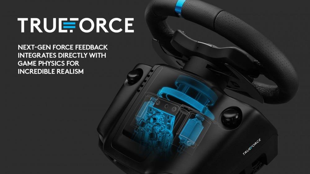 Logitech G923 Trueforce feedback