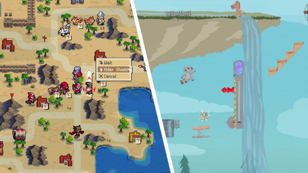 Wargroove, Ultimate Chicken Horse