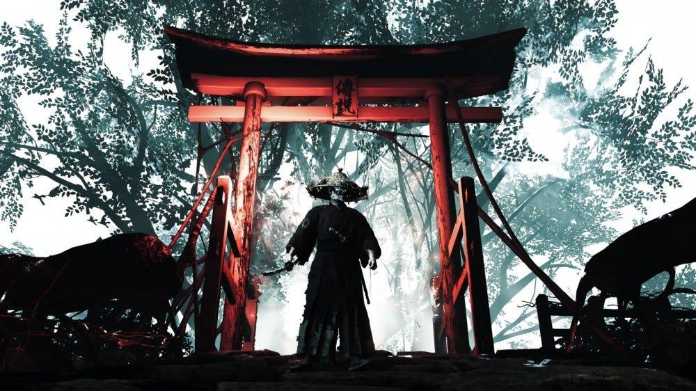 Ghost of Tsushima screenshot.