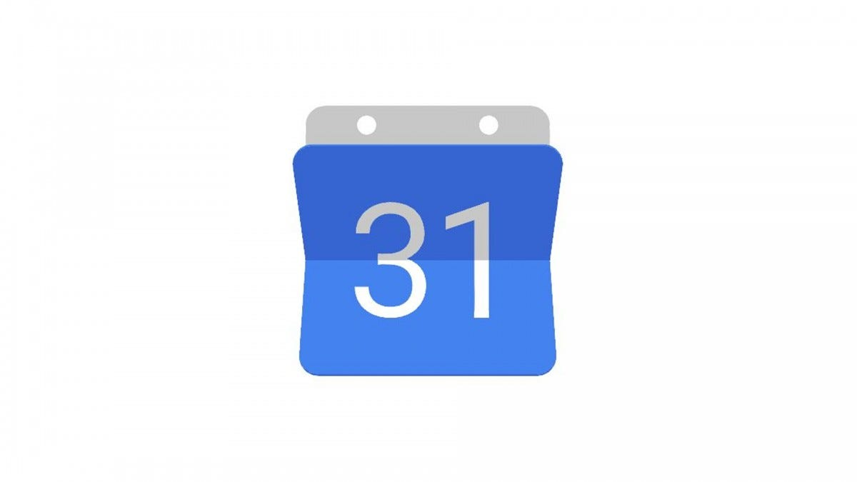 The Google Calendar logo.