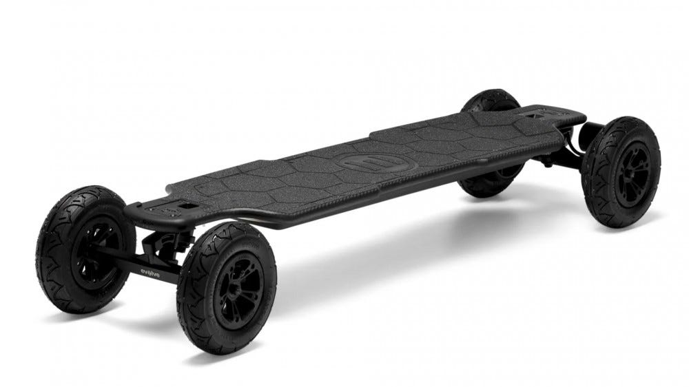 A photo of the carbon fiber Evolve GTR Longboard