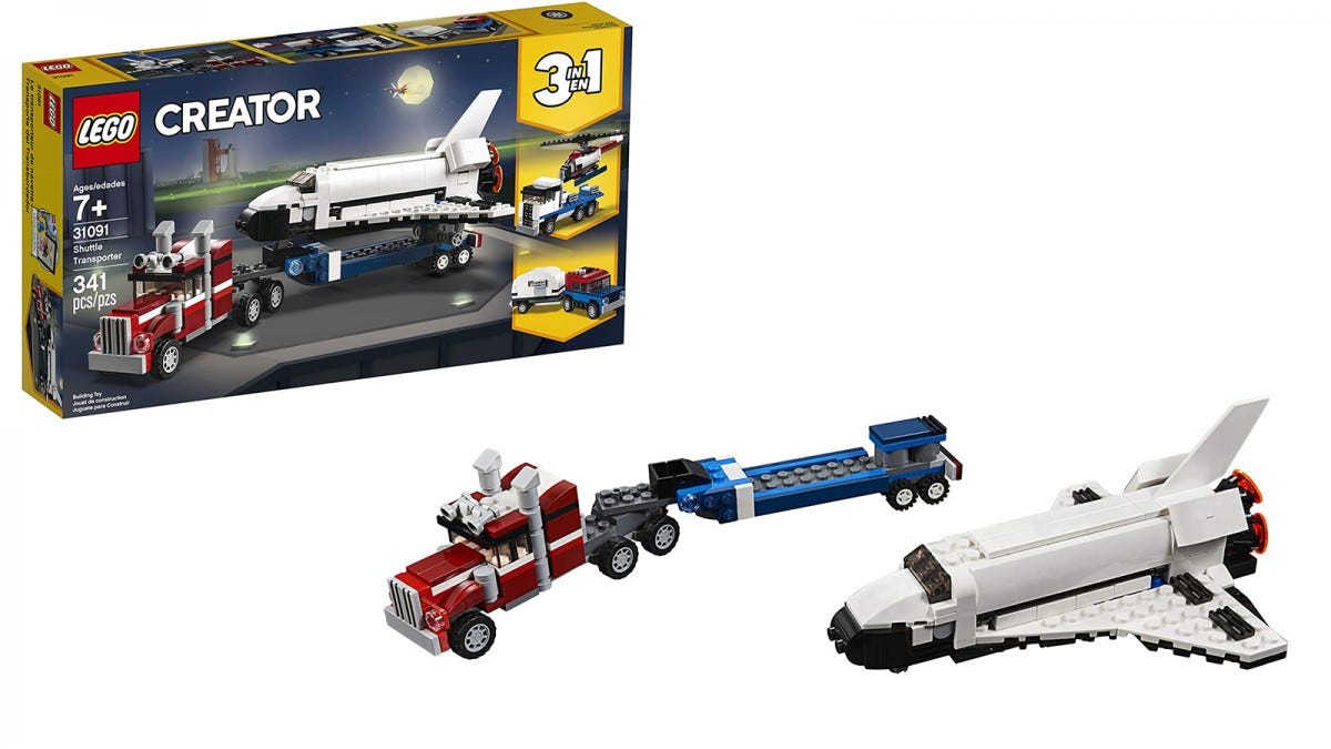 LEGO Creator 3-in-1 Shuttle Transport