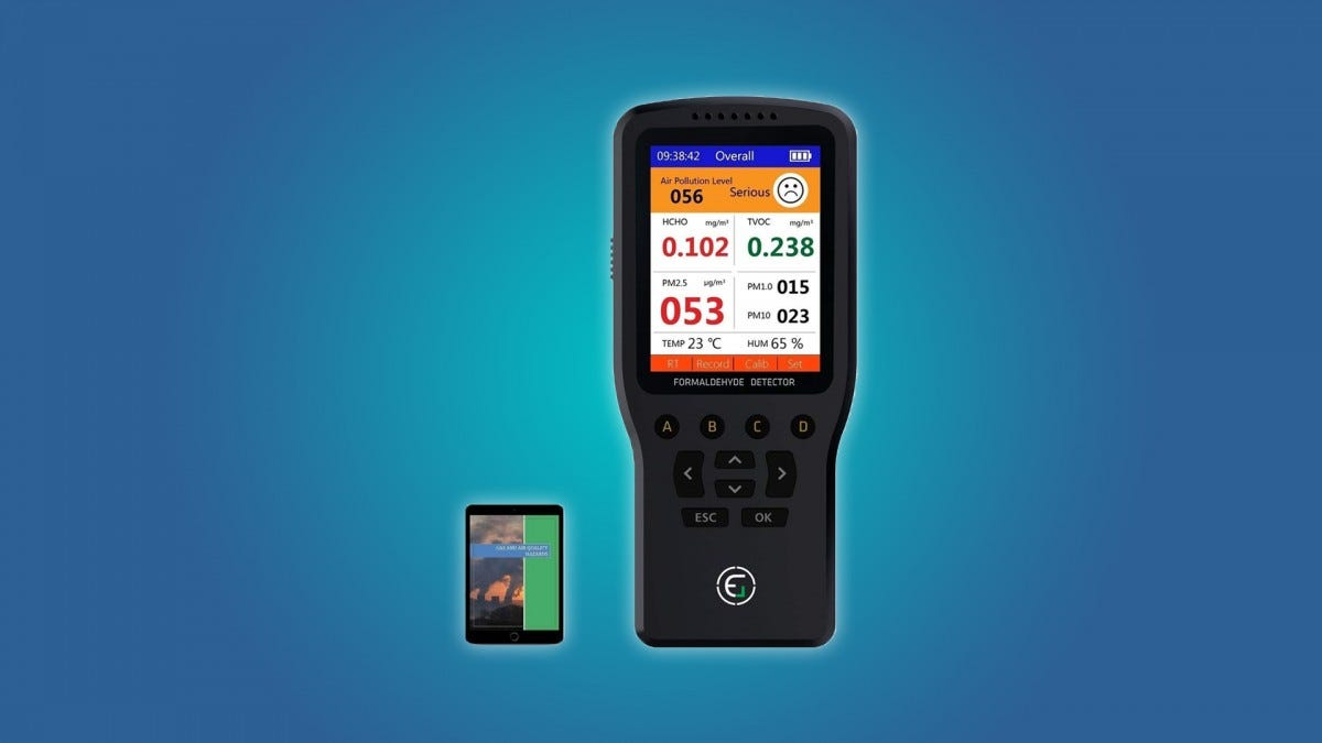 EG Portable Pollution Monitor