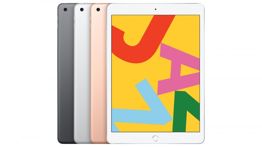 Latest 2019 iPad with Wi-Fi and 32 GB of storage
