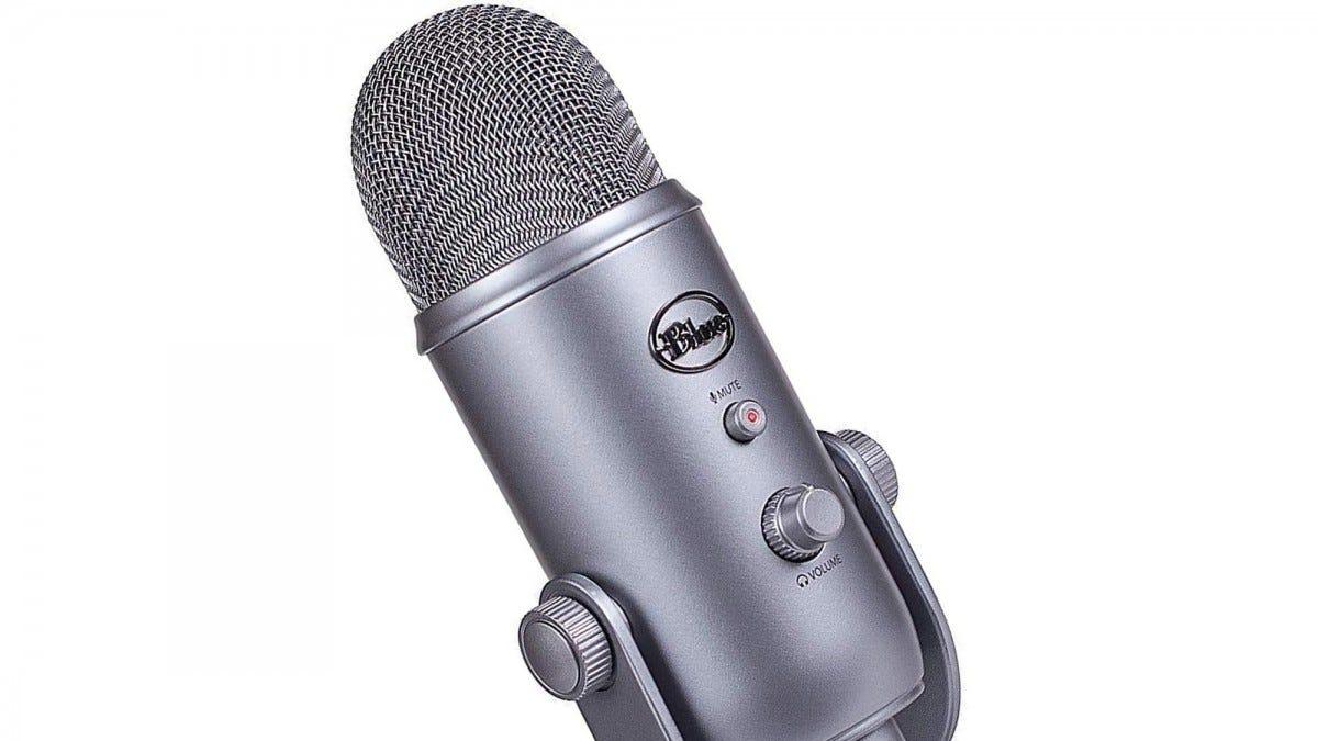 Microphone Yeti bleu