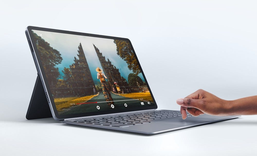 Lenovo Tab P11 Pro with keyboard