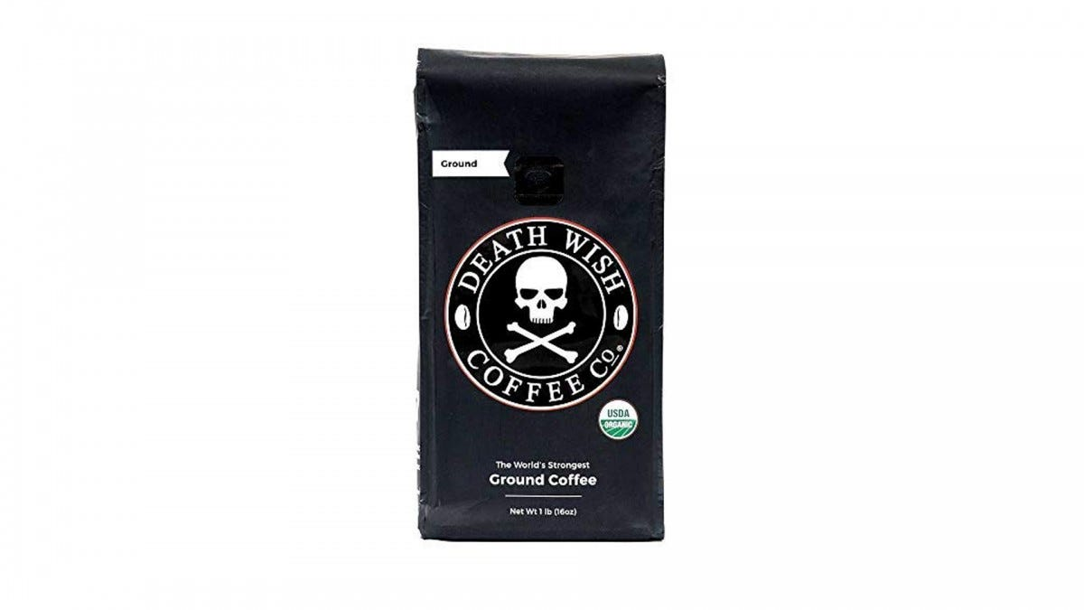 The Death Wish coffee.