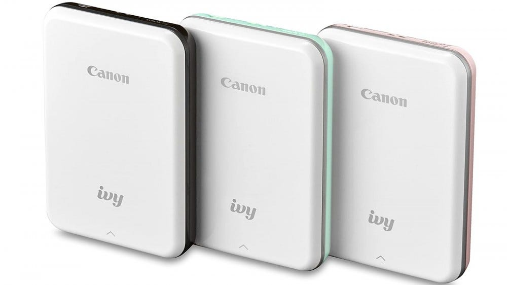 Canon Ivy Best premium photo printer for smartphones photo editing app