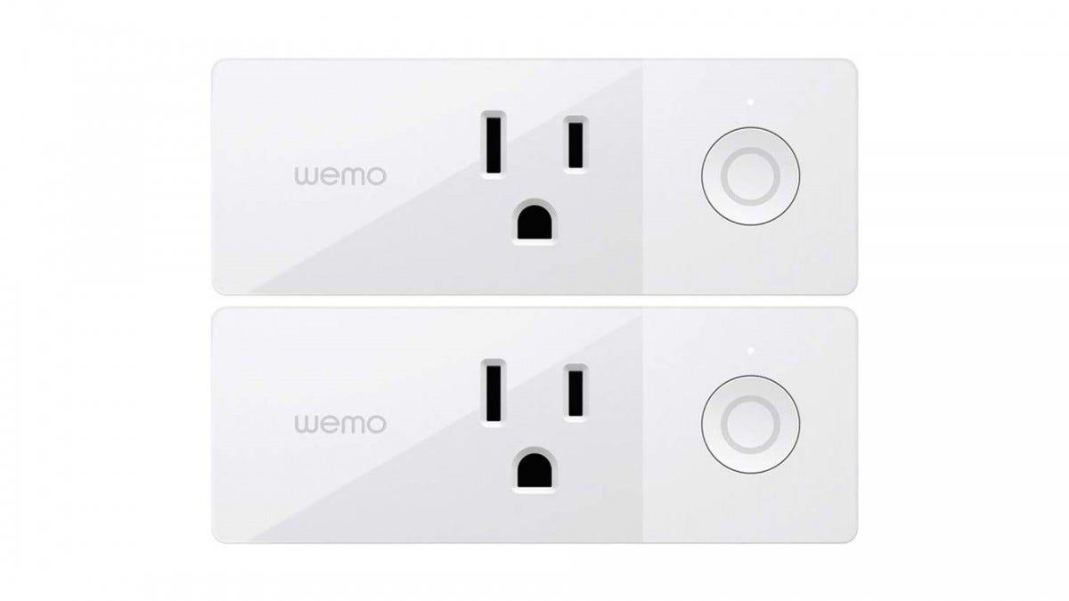 The Wemo mini smart plug
