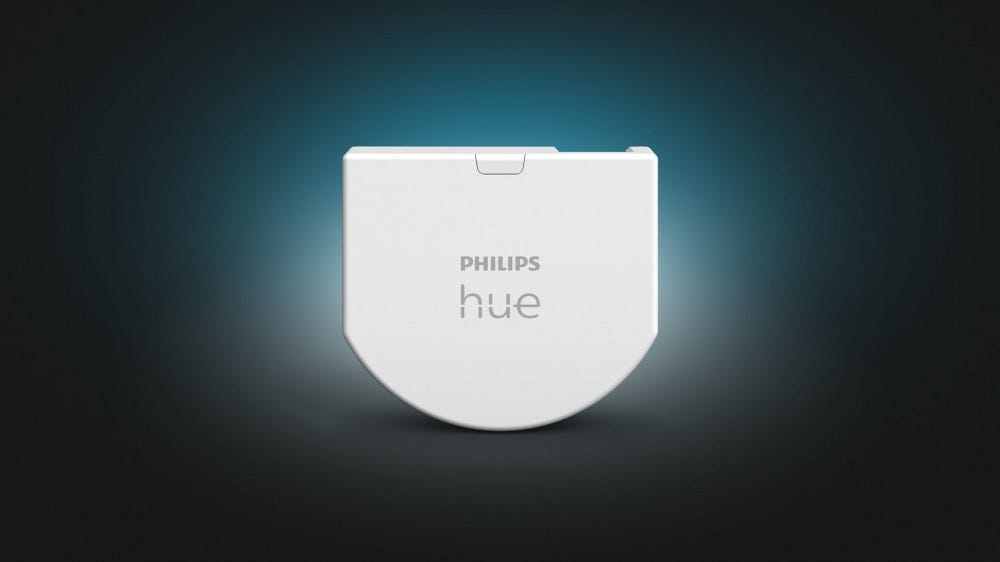 Philips Hue's New Wall Switch Module Fixes the Biggest Problem With Smart Bulbs – Review Geek