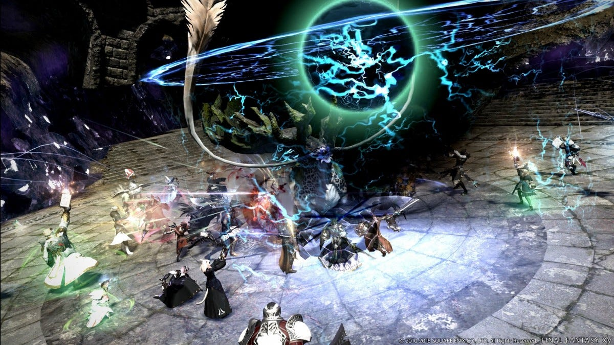 Final Fantasy 14 screenshot.