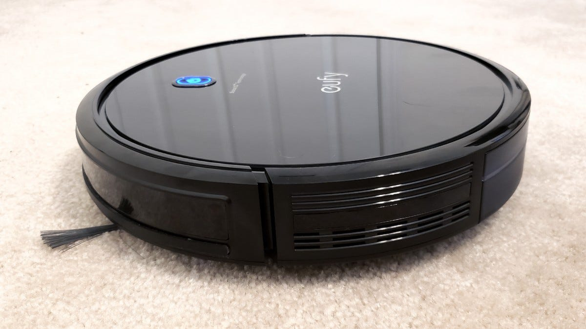 A side view of the RoboVac 11S Max.
