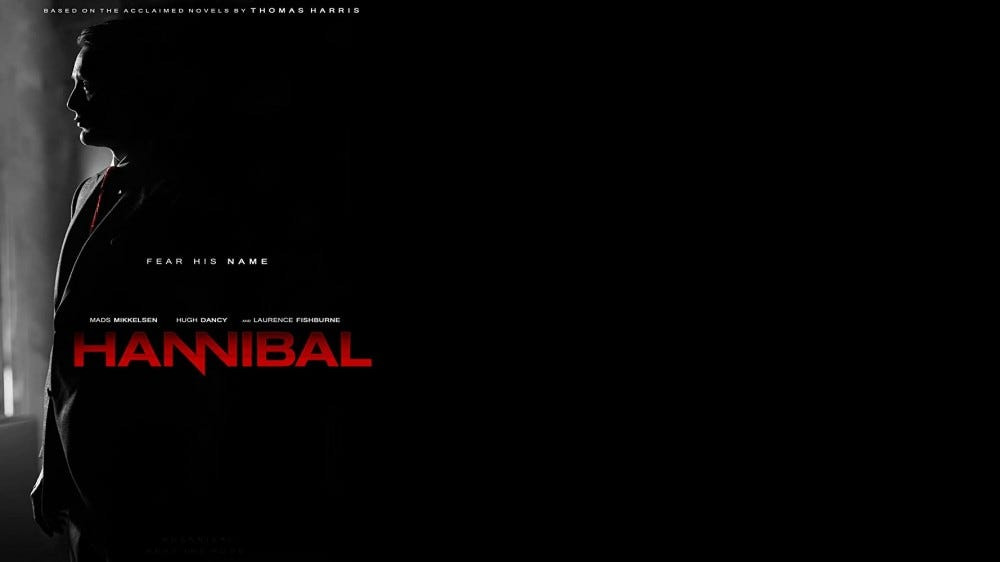 "The Hannibal ""movie"" poster"