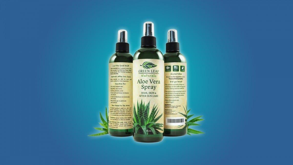 The Green Leaf Aloe Spray