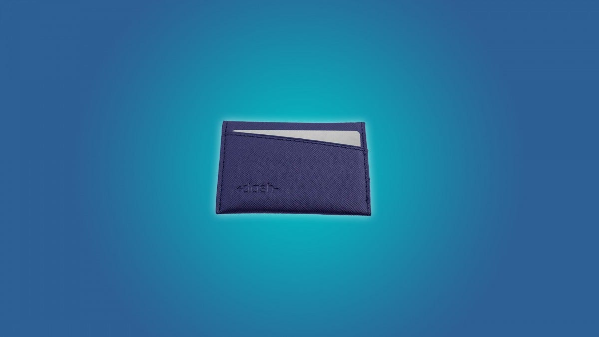 The Dash Premium Slim Wallet