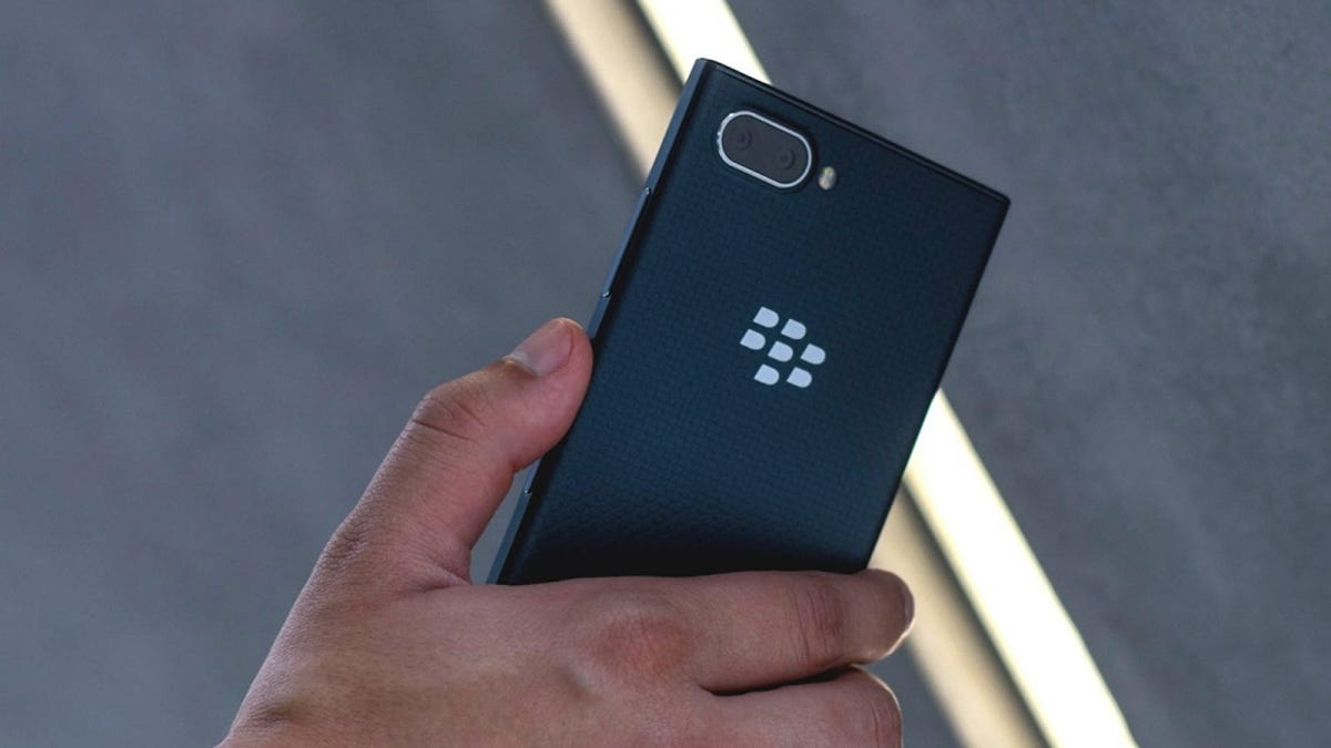 The Blackberry Key2 LE