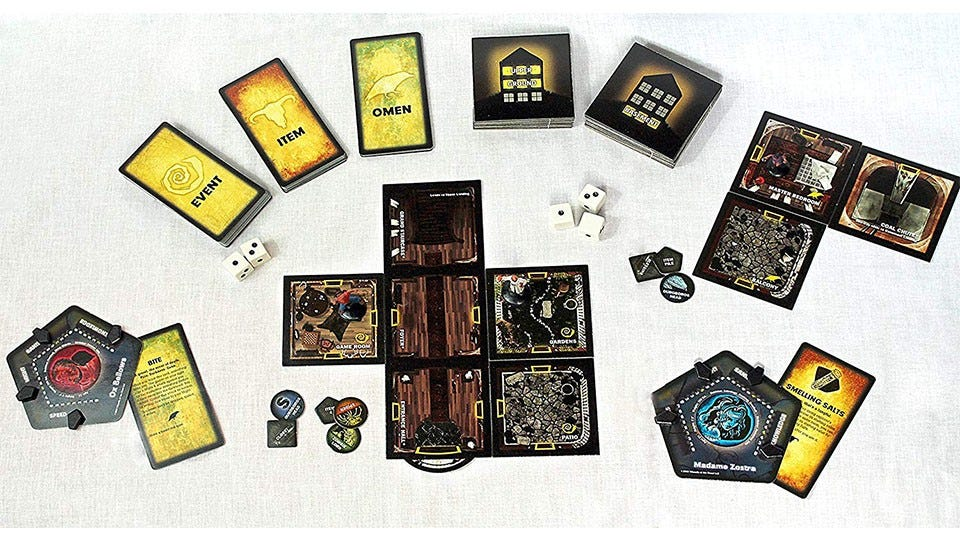 Betrayal at House on the Hill Board Game