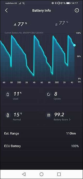 niu app battery monitor