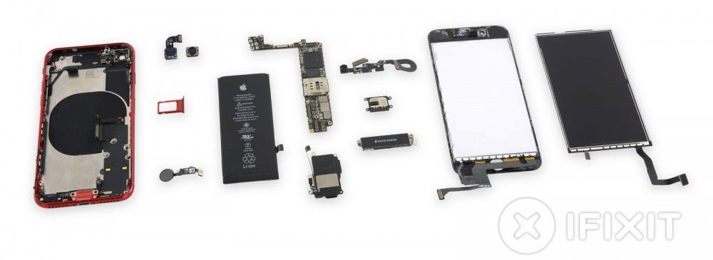 iFixIt Teardown of the iPhone SE