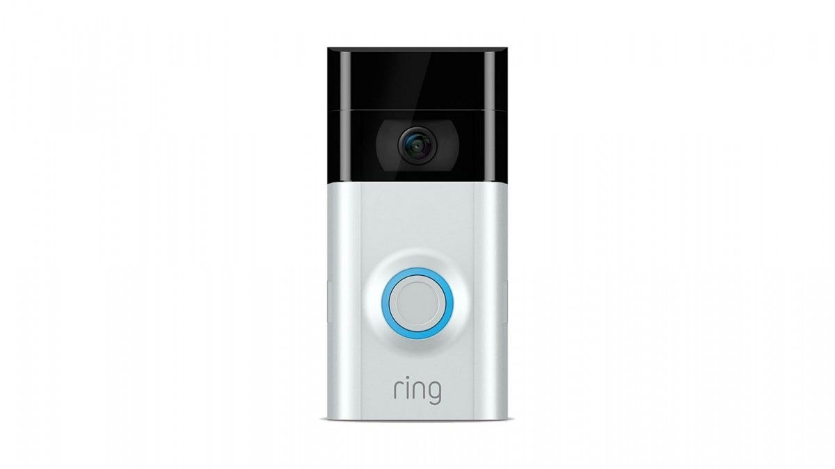 A Ring 2 Video doorbell