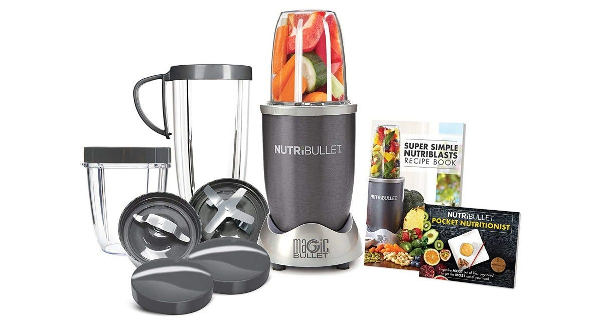 NutriBullet 12-Piece High-Speed Blender Mixer System