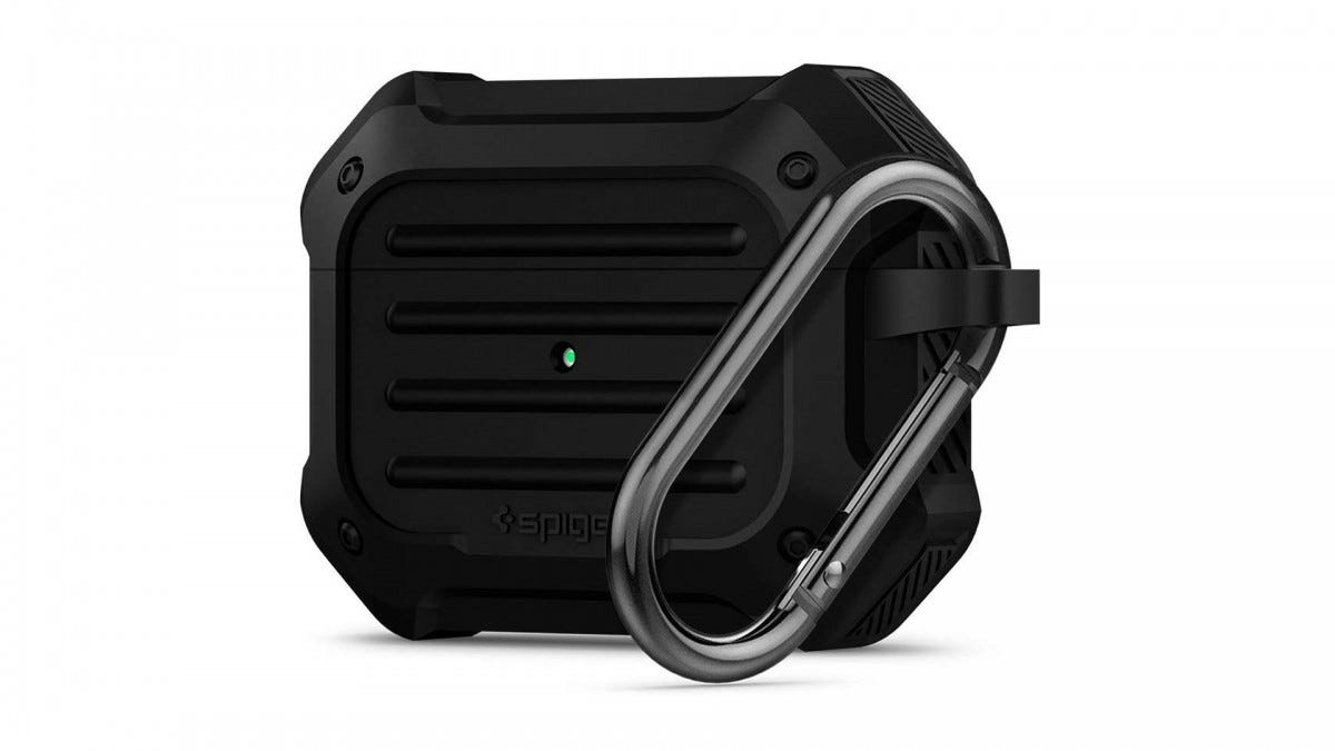 The Spigen Tough Armor case for the AirPods Pro