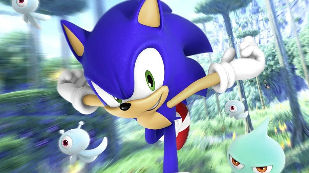 Screenshot of Sonic the Hedgehog game