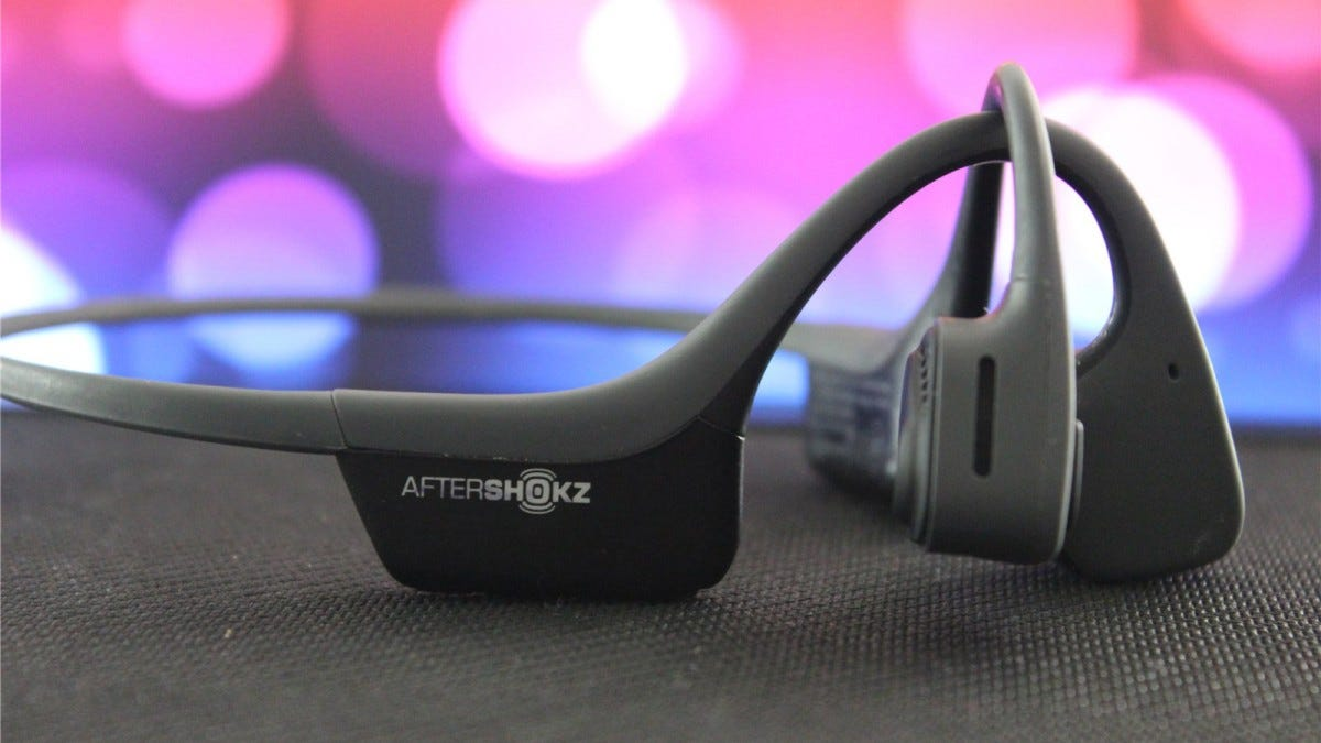 AfterShokz Air bone conduction headphones