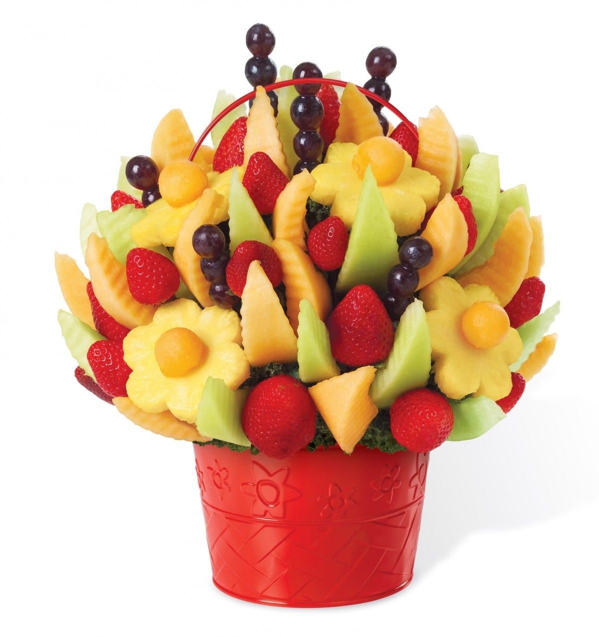 Edible Arrangements fruit basket.