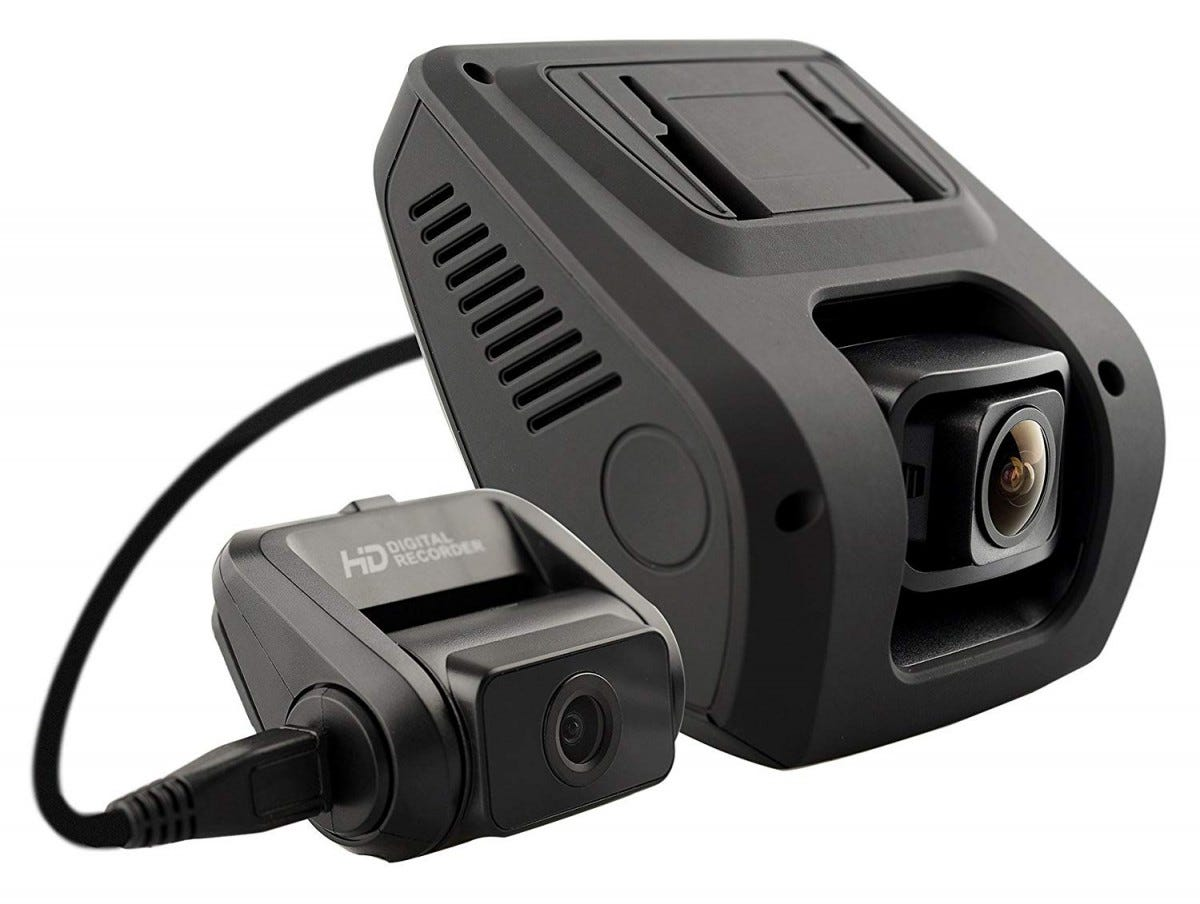 rexing, dash cam, dual cam, front and rear, car camera,