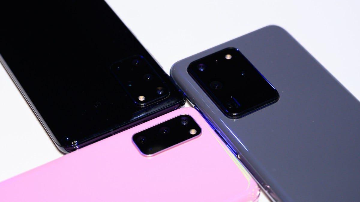 Samsung Galaxy S20 5G vs S20+ vs Ultra Cameras