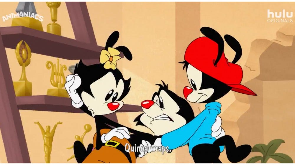 Animaniacs reboot on Hulu