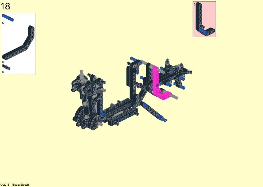 Lego Thunderjaw instructions screenshot