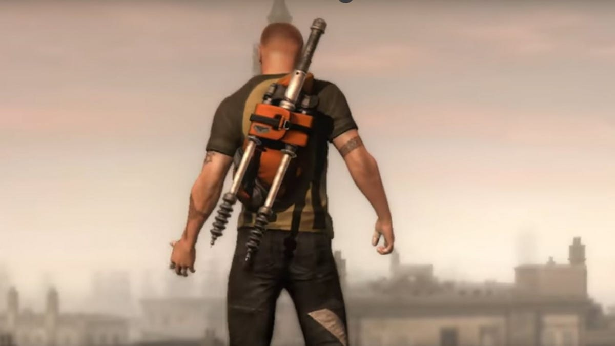 Cole, from the video game inFAMOUS 2