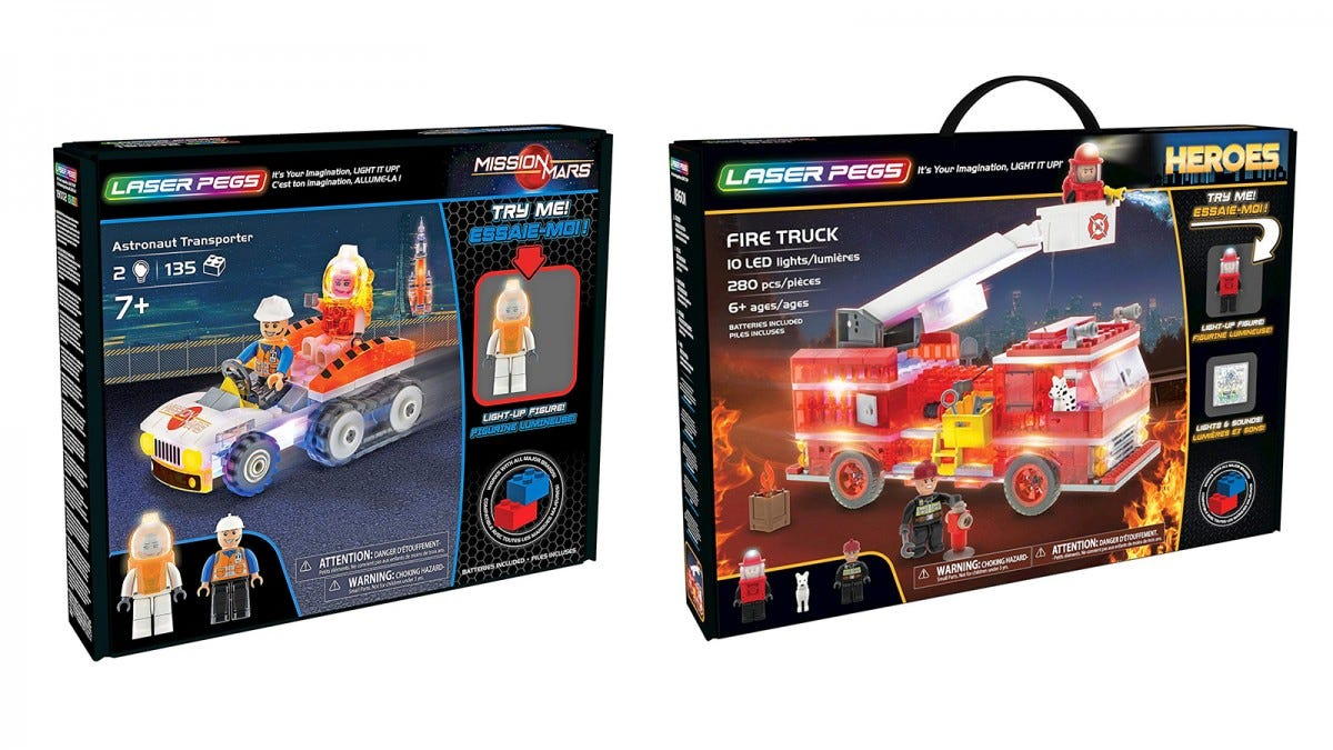 Laser Pegs Sets