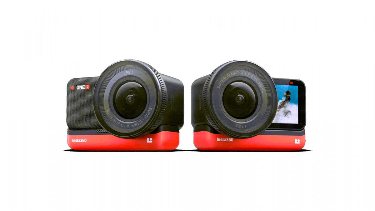 The Insta360 Modular Action Camera
