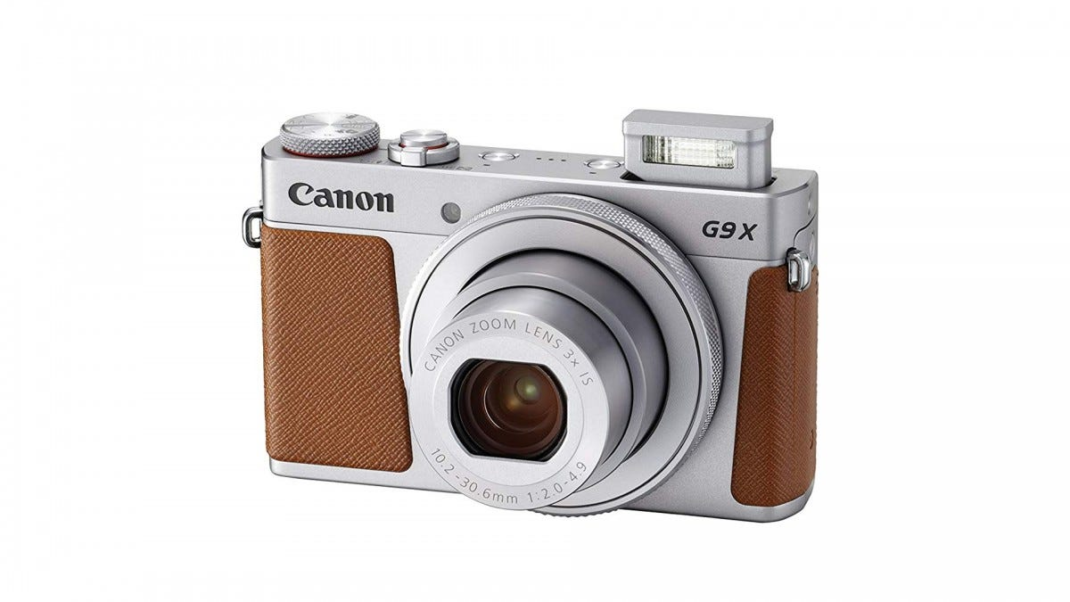 The Canon PowerShot G9 X Mark II