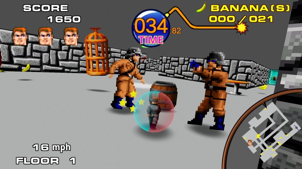 Return to Castle Monkey Ball screenshot