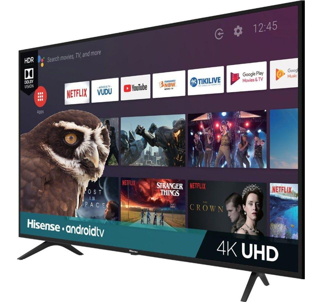 Hisense H6500F television