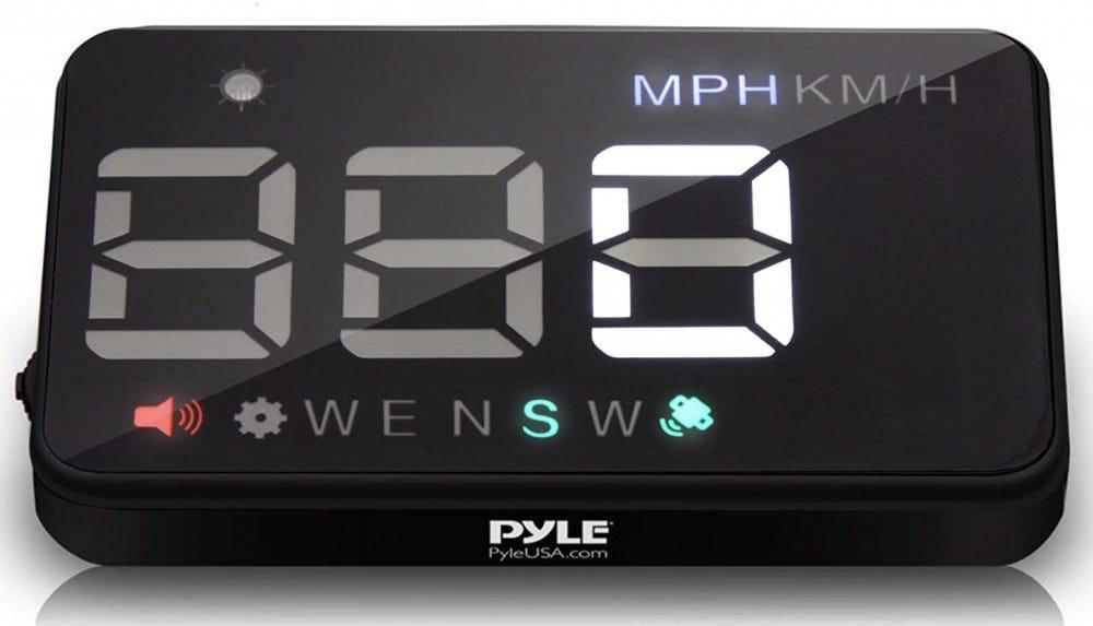 Pyle HUD display
